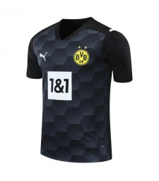 Borussia Dortmund Gardien de but Maillot de football noir Uniformes de football 2020-2021