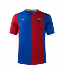 Barcelona Retro Home Soccer Jerseys Maillots de football pour hommes Uniformes 2006-2007