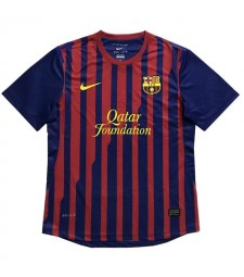 Barcelona Retro Home Soccer Jerseys Maillots de football pour hommes Uniformes 2011-2012