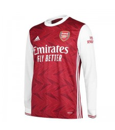 Arsenal domicile maillot de football à manches longues maillots de football uniformes 2020-2021