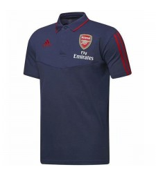 Arsenal Polo Football Training Jersey Soccer Navy Sportswear T-shirt 2019