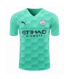 Manchester City Sky Blue Gardien de but Soccer Jersey Football Shirts Uniformes 2020-2021