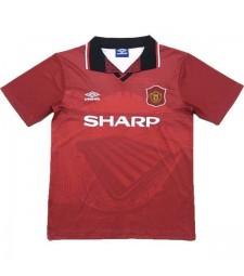 Maillot de foot Manchester United domicile rétro maillot homme 1994-1996