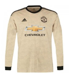 Maillot de football maillot à manches longues Manchester United Away 2019-2020