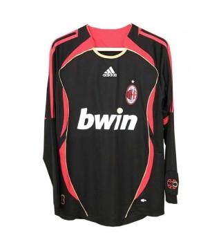 AC Milan rétro à manches longues troisième maillots de football hommes maillots de football uniformes 2006-2007