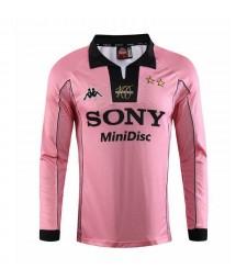 Juventus Away Maillot de football rétro à manches longues pour homme 1997-1998