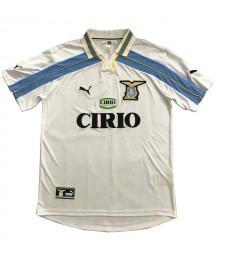 Maillots de football rétro Lazio loin des maillots de football pour hommes uniformes 2000-2001